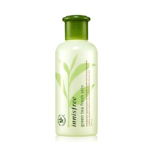 Innisfree - Green Tea Fresh Skin Face Toner Wajah Original Korea