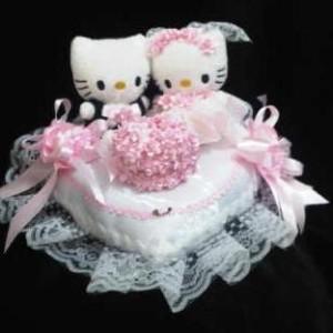 Bantal cincin wedding ring pillow boneka bantalan kotak cincin 3303