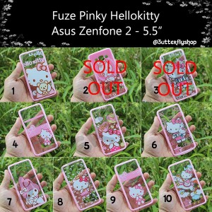 "Fuze Pink Hellokiity Asus Zenfone 2 - 5.5"""
