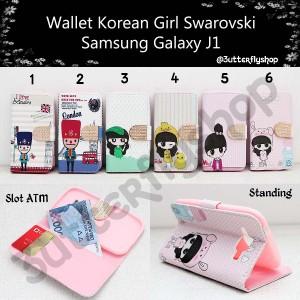 Wallet Korean Girl Samsung Galaxy J1