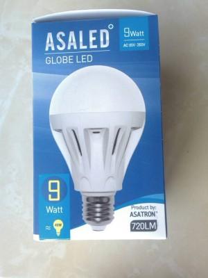 Lampu LED 9 Watt Warm White(kuning) ASALED
