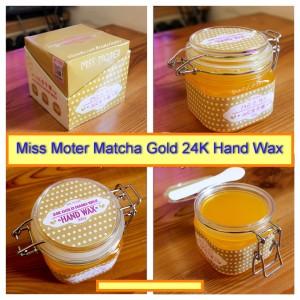 Miss Moter 24k Gold Hand Wax