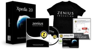 Zenius Education Xpedia 7 SMP IPA K-13 Bimbel di DVD & Online Video