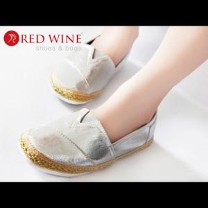 Sepatu Wanita Import - Red Wine Y805-6 Silver