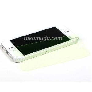 Glow Tempered Glass Kaca iPhone 6+ plus  Depan Only Slim Anti Gores