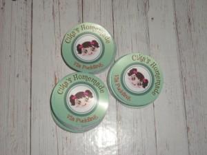 Stiker Produk Bulat diameter 4 cm