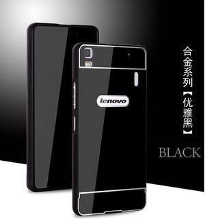 METAL CASE ALUMUNIUM BUMPER/FRAME BACK CASE COVER LENOVO A7000