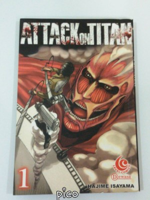 Attack on Titan 1 (Hajime Isayama)
