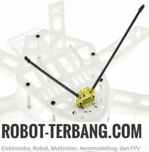 Antenna RX 90 degree Receiver Holder FPV Aeromodelling Radio Control