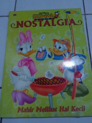 majalah Donal bebek nostalgia -  komik walt disney