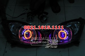 Headlamp Full Custom Agya / Ayla (bisa pilih warna) include HOUSING