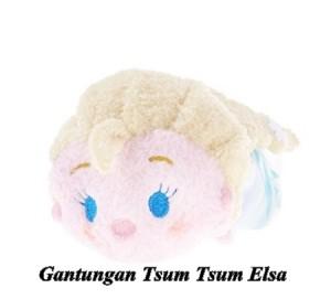 Gantungan Kunci / Gantungan Tas Tsum Tsum Elsa