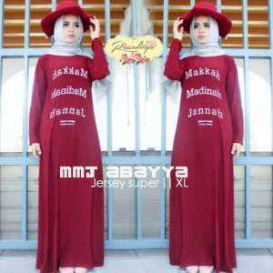 supplier baju hijab : abayya mmj makkah madinah jannah by rsd