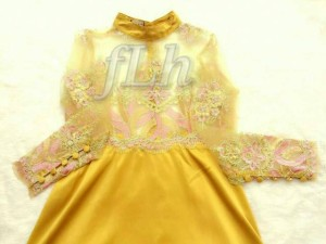 supplier baju hijab : amore gold ori by flh