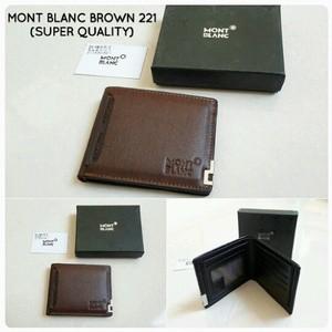 Wallet MONT BLANC Brown kode 221