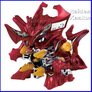 B-Daman CB-26 Force Dragren (Original) Takara Tomy Japan mainan gunduk