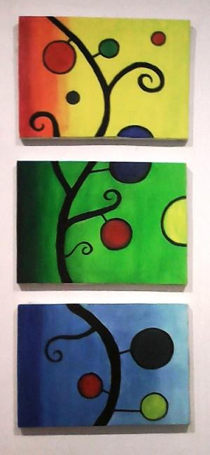 Lukisan Dekoratif (3 Pcs)
