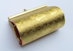 Souvenir Pernikahan Dompet Koin Kupu Kuning