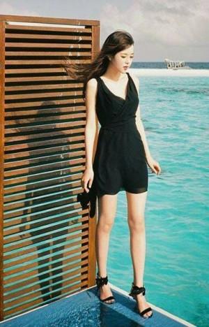 DRESS 07078092 BLACK