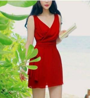 DRESS 07078092 RED