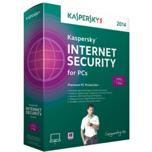 Kaspersky Internet Security 3 user for 1 year