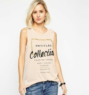 WST 9116 - Nude 'Untitle Collections' Tee