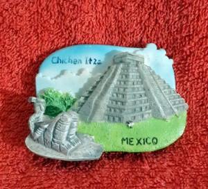 SOUVENIR MANCANEGARA MAGNET KULKAS MEXICO