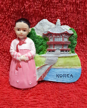 SOUVENIR MANCANEGARA MAGNET KULKAS KOREA