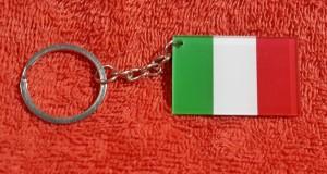 SOUVENIR MANCANEGARA GANTUNGAN KUNCI ITALIA
