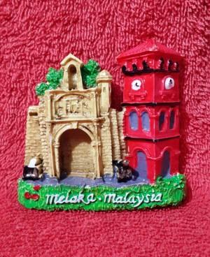 SOUVENIR MANCANEGARA MAGNET KULKAS MALAYSIA