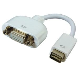 Konverter Mini DVI to VGA Female Untuk MacBook tipe lama