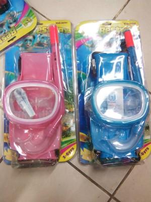 Alat Snorkling Anak 3-6Thn Paket FIN, Kavamata dan Snorkel