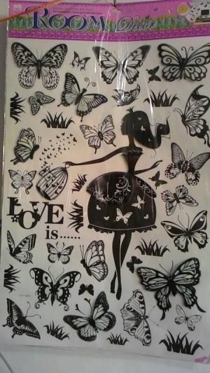 Wall stiker / stiker dinding/ room decor uk. 60x90cm