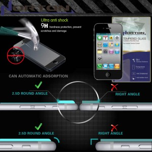Norton Tempered Glass iPhone 4 - 4S