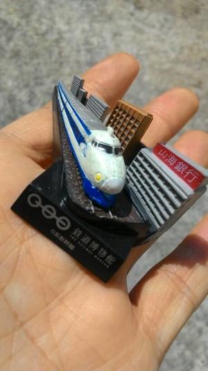 miniatur set kereta api kaiyodo