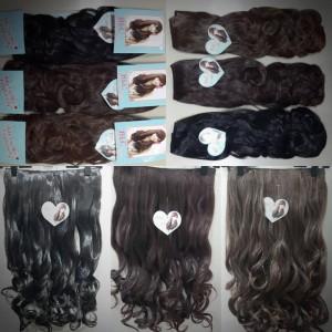 hair clip curly BLC