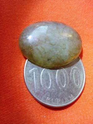 Mata cincin batu LABRADOR Bulat oval kecil 01