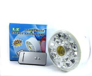 Lampu Emergency LED Remote Energy Saving Lamp LZ-226 20SMD