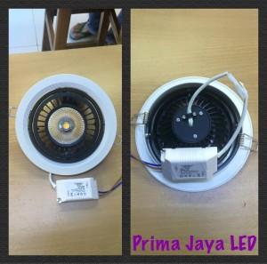 lampu downlight bulat assa 18 watt