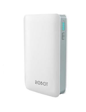 Robot Power Bank 6000mAh - RT6000 Putih