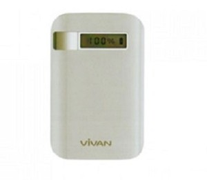 Vivan Power Bank IPS06 8000mAh - Putih