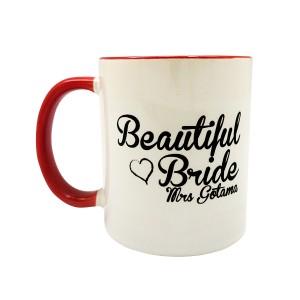 "Gelas Mug ""Bride"" Gratis Custom Nama by Char & Coll"