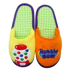 "Sendal Rumah atau Home Slipper ""Bubble Gum"" Kustomisasi by Char & Coll"