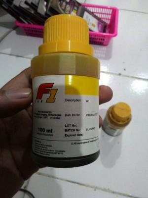 tinta f1 hp yellow 100ml promo only
