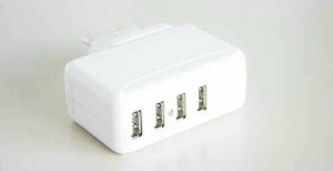 4 USB power adapter 5 V 3.1A(15.5W)