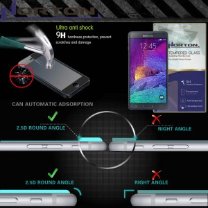 Anti Gores Kaca Norton Pro Tempered Glass Samsung Galaxy Note 4 N9100