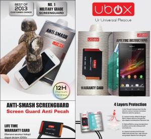 Anti Gores Ubox Anti-Smash Anti Pecah Screen Guard Sony Xperia Z L36i