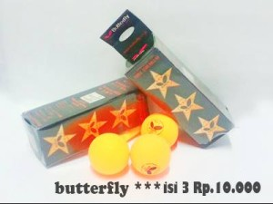 Bola Pingpong Butterfly