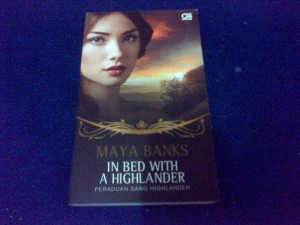 In Bed with a Highlander by Maya Banks
