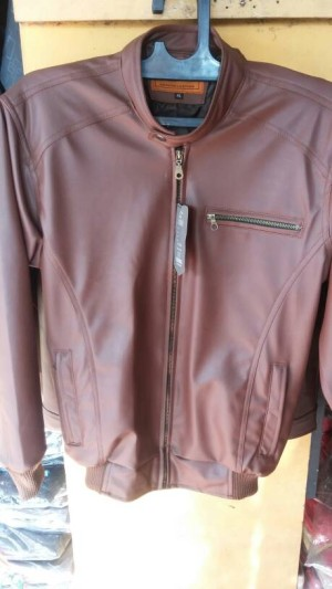 jaket kulit murah/jaket kulit motor/jaket kulit laki-laki/jaket cowo